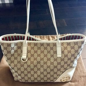 Host Pick Gucci Tote with Gold Hardware